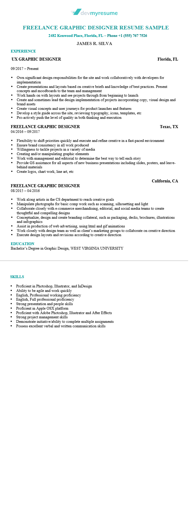 Resume Editing Services by DevMyResume.com